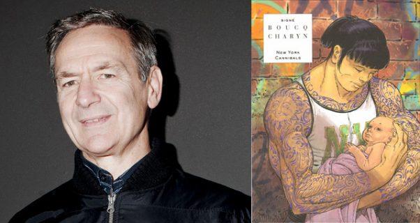 Portrait de François Boucq et couverture de New York Cannibals