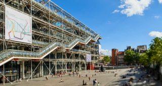 photo du Centre Pompidou